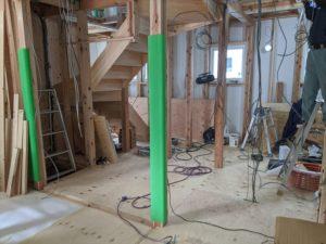 屋内ケーブル敷設工事